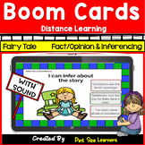 Fairy Tale Boom Cards for Inferencing and Fact & Opinion |