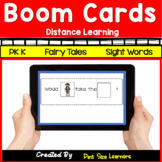 FREE Distance Learning Sight Word Sentences Boom Cards | D
