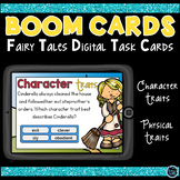 Boom Cards Fairy Tales Character Traits and Physical Traits