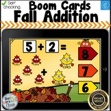 Boom Cards Fall Adddition to 10