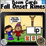 Boom Cards Fall Beginning Sounds