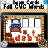 Boom Cards Fall CVC Words