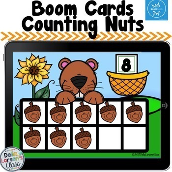 Boom Cards Fall Math and Litercy Bundle