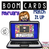 Boom Cards - February Match It Up