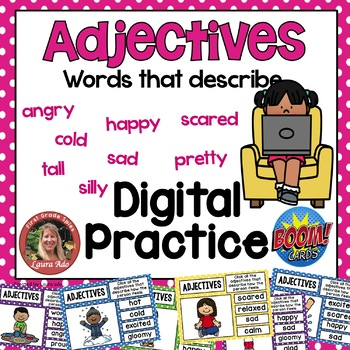 Boom Cards Feeling Adjectives