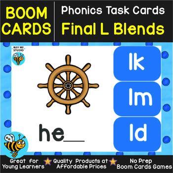 Boom Cards | Final Blends -L- (lb, ld, lf, lm, lp, lt)