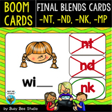 Boom Cards   Final Blends -N- and -M- Cards: MP, NK, ND, NT
