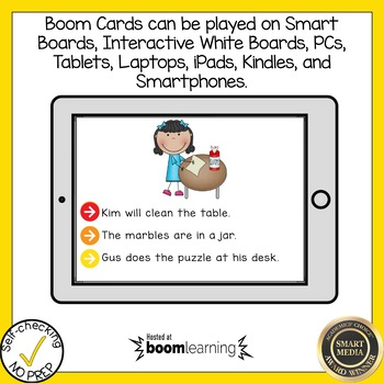 Boom Cards Final Stable Syllable LE Read the Word