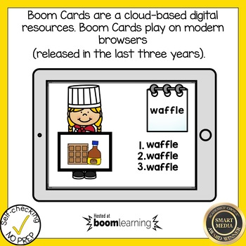 Boom Cards Final Stable Syllable LE Write the Word