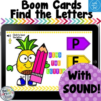 Boom Cards Find The Letter