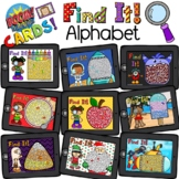 Boom Cards - Find it! Alphabet Bundle - Distant Learning