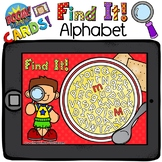Boom Cards - Find it! Alphabet Soup - Distant Learning