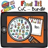 Boom Cards CvC Bundle Distant Learning