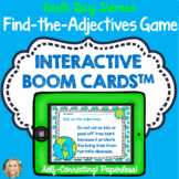 Boom Cards™, Find the Adjectives, Grammar in Context, Earth Day Themed