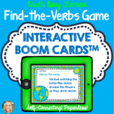 Boom Cards™, Find the Verbs, Grammar in Context, Earth Day Themed