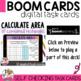Boom Cards Finding Area
