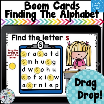 Boom Cards Finding the Alphabet