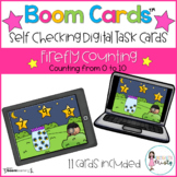 Boom Cards™  Firefly Counting (0-10)