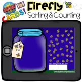Boom Cards - Firefly Sort and Count - Distant Learning