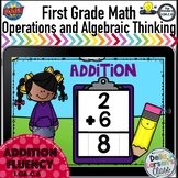 Boom Cards First Grade Addition Fluency 1-10 {1.OA.C.6}
