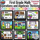 Boom Cards First Grade Math Addition and Subtraction Bundle