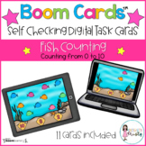 Boom Cards™  Fish Counting (0-10)