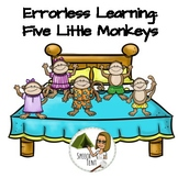Boom Cards- Five Little Monkeys