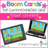 Boom Cards™  Flower Counting (0-10)
