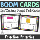 Boom Cards - Fraction Practice
