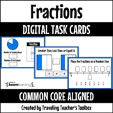 Boom Cards™ Fractions Distance Learning