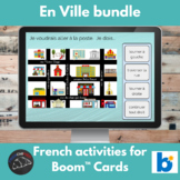 Boom Cards™ - French - En Ville Bundle