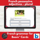 Boom Cards™ - French - Possessive adjectives notre/nos, votre/vos and leur/leurs