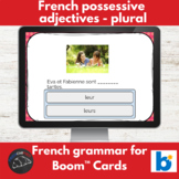 Boom Cards™ - French - Possessive adjectives notre/nos, vo