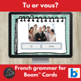 Boom Cards™ - French - Tu or Vous?