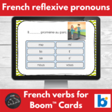 Boom Cards™ - French - reflexive pronouns