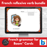 Boom Cards™ - French - reflexive verb bundle
