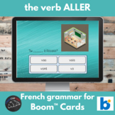 Boom Cards™ - French verb ALLER