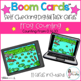 Boom Cards™  Frog Counting (0-10)