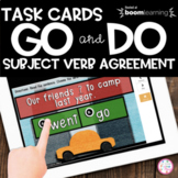 Boom Cards | GO and DO verbs