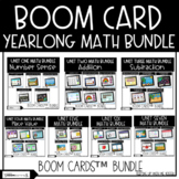 Yearlong Math Bundle | Boom Cards™ | Distance Learning