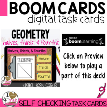Boom Cards Geometry 2nd Grade