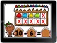 Boom Cards Gingerbread Math Add and Subtract to 10