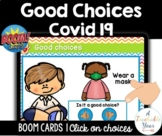 Boom Cards™ Good Choices | Covid19 | Free