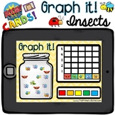 Boom Cards - Graph It! (Insects) - Distant Learning