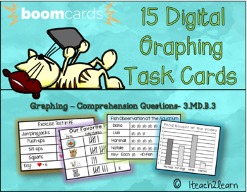Boom Cards- Graphing Comprehension