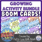 Boom Cards Growing Activity Bundle!