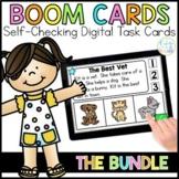 Boom Cards™ Distance Learning BUNDLE | ELA & Math Digital