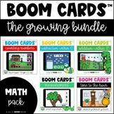 Boom Cards Growing Bundle - Math Skills | Distance Learnin