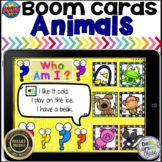 Boom Cards Guess The Animal Listening Center