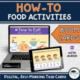 HOW TO Food Activities - Pizza |Sundae | Sandwich | Cereal BOOM CARDS